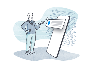 "Illustration Experiment 6 ""Mobile Alerts"" jenks seth product illustration illustration alets push notifications push notification phone app"