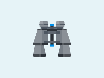 Binoculars Icon find search binoculars illustration jenks icon