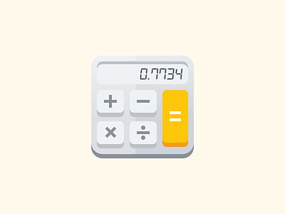 Hello Calculator! product illustration icon illustration hello calculator