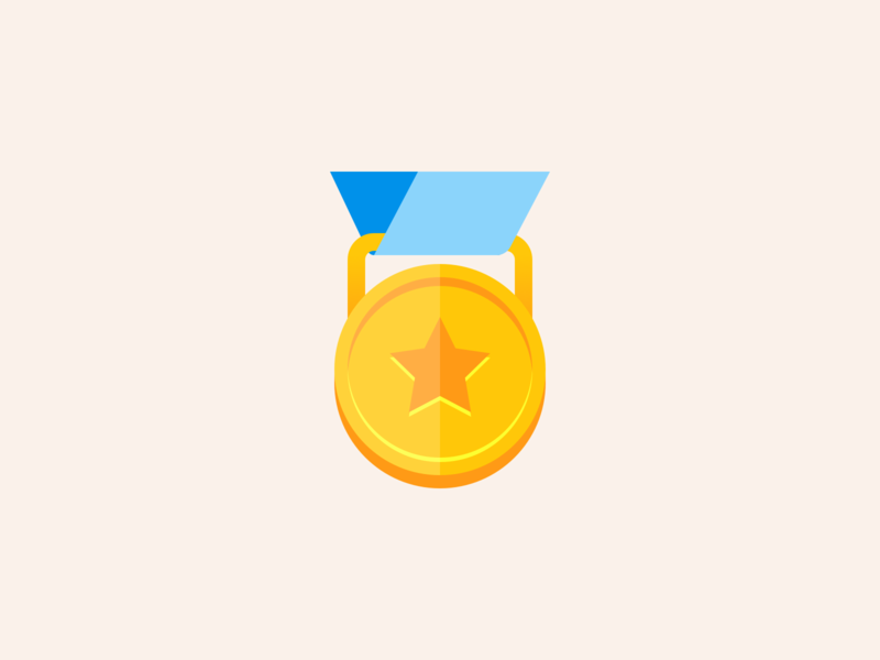 A Major Award jenks seth award medal iconography icon product illustration illustration