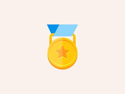 A Major Award jenks seth award medal iconography icon product illustration illustration