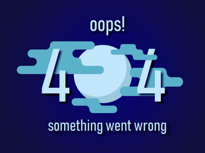 Error 404 #dailyui #008