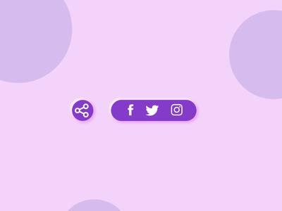 Share button #dailyui #010