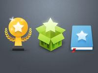 Big 'n shiny icons