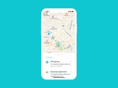Mobile bank navigation