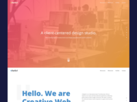 Web Design - Simple and Clean