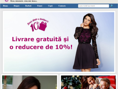 Web Design - Brand.Online Mall