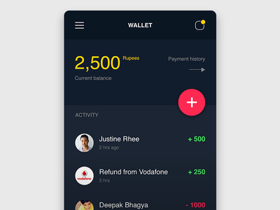 Wallet App shop ios app mobile payment currency wallet cards pay experience design ux ui