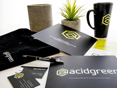 acidgreen branding