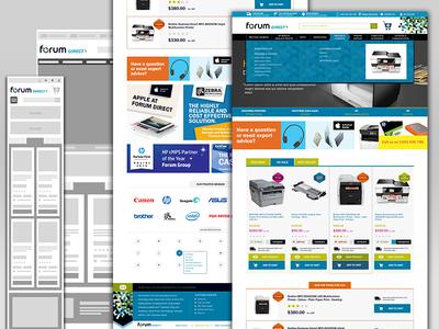 Forum Direct web design