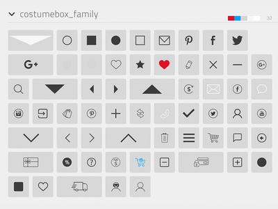 Brand/Icon design -  Custom Font Family