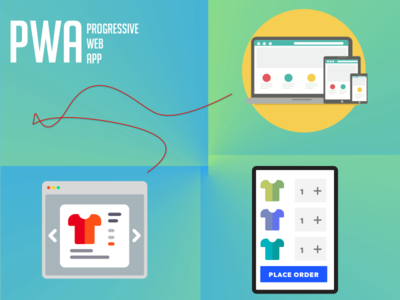 Progressive Web Apps illustration