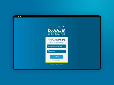 Ecobank Staff Portal login