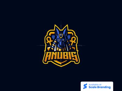 Anubis Mascot Logo by Ngopi Studio