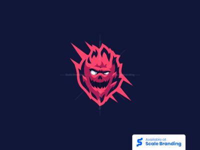Demon Mascot Logo by Smash