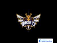 Hornet Mascot Logo by Kin Studio