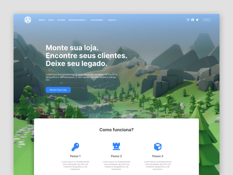Study Design #1 3d web icon ui
