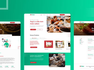 Fhilippi Distribuidora de Alimentos - Website Redesign webdesig redesign uiux website web ui