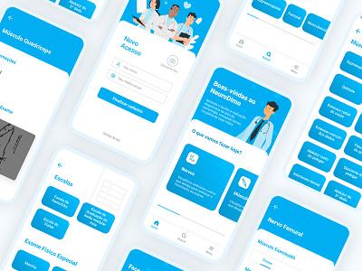 NeuroDimo - Doctor/Medicine App mobile ui mobile uiux doctorapp medicine app doctor app design app mobile ui
