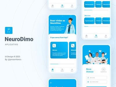 Doctor/Medicine App - NeuroDimo medicine app doctor app uiux uidesign uxdesign ui mobile mobile app app mobile ui mobile