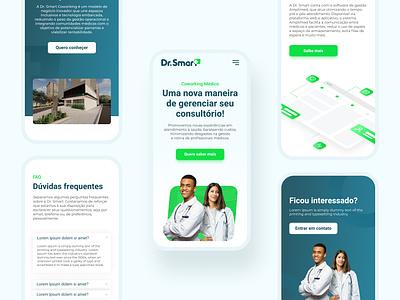 Coworking Médico - Website medic website medic mobile design mobile ui uiux website web