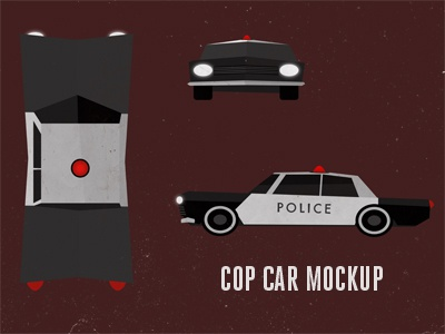 "New Animation Project 3 ""Cop Car Mockup"""