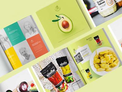 catalog / greek food paper design healthy green catalog eat greece greek layout graphic design