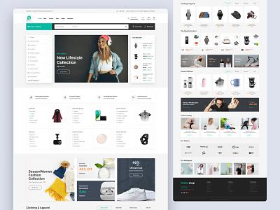 E-commerce website design ecommerce web layout product page logo e-commerce landing page graphic design website design online shop shopping ecommerce design ux design illustration web design branding creative uiux ui