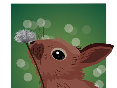 rabbit vector art artwork rabbit design vector illustration vectorart vector illustrator