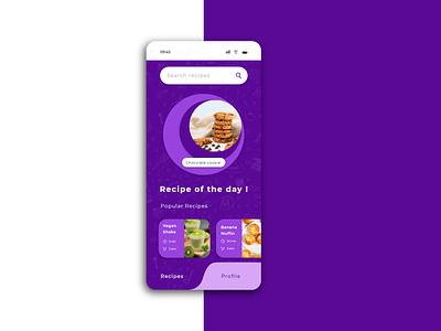cookbook - recipe app - mobile ui design cookbook adobe illustrator ui ux design mobile ui design ios ui android ui cooking app recipes app ui ux designer typography ux adobe xd ui