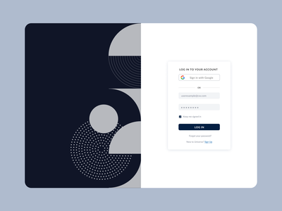 Sign-up page interface app private investment login design login screen form login form login page login sign in sign up uidesign ui