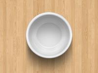 Empty Vegetable Dish