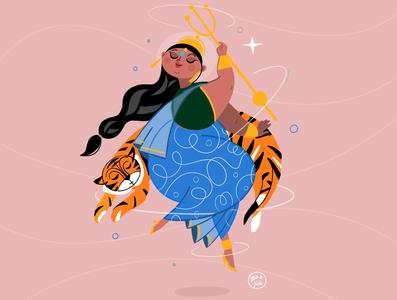 Indian Goddess Durga