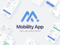 Mobility App Case Study management money maps directions study case ux ui cards transportation public transit train bus ticketing