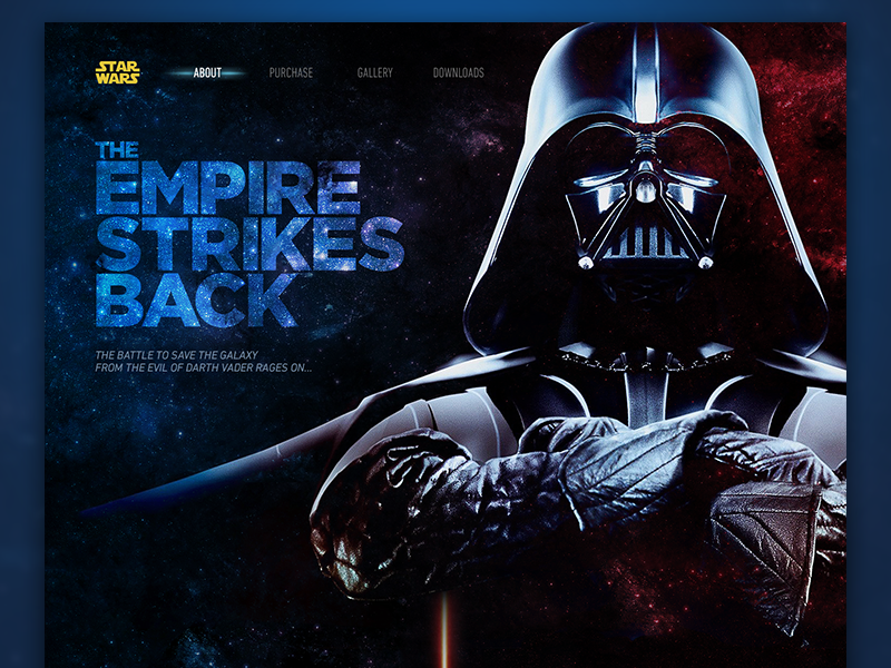 The Empire Strikes Back hoth vader darth wars star page full trailer site web movie