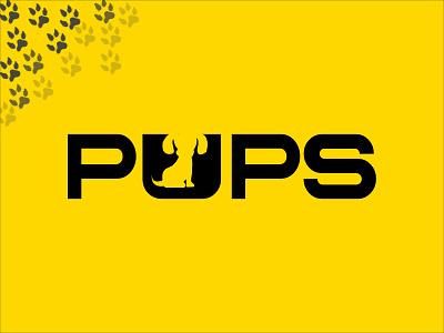Pups puppy affinity designer thirtylogos logo