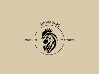 Milwaukee Public Market milwaukee affinity designer thirtylogos logo