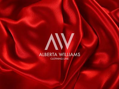 Alberta Williams affinity designer clothing logo