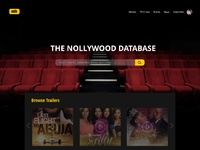 Nollywood Movie Database by Joseph Rex on Dribbble