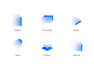 Frosted Glass Icons
