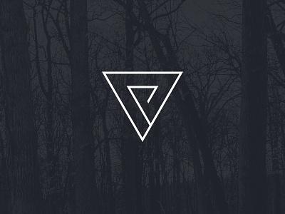 VP logo mark  branding logo