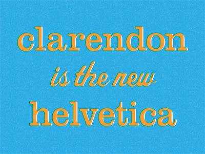 Clarendon helvetica400x300