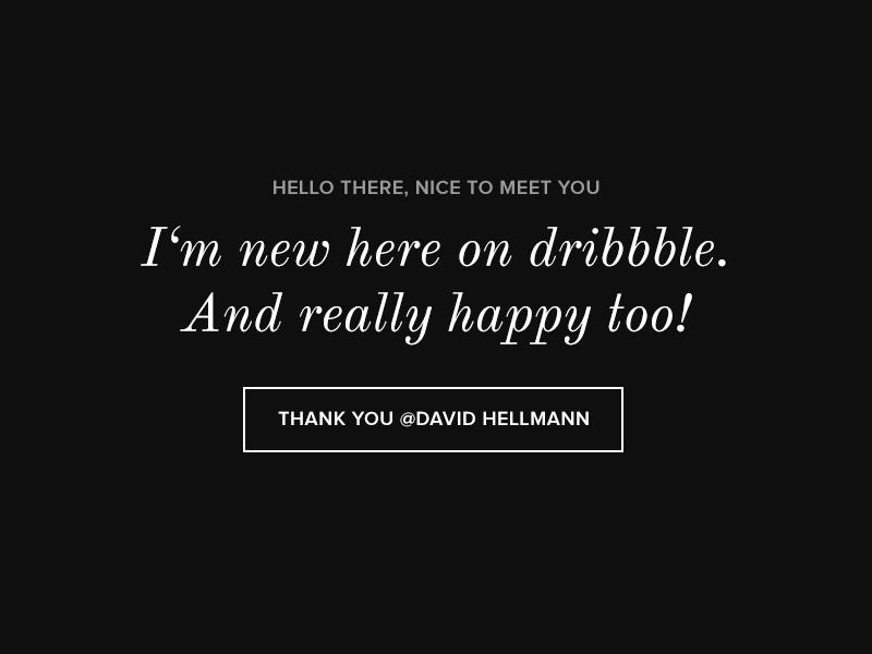 Thanks david