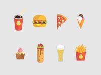 Icons Burger