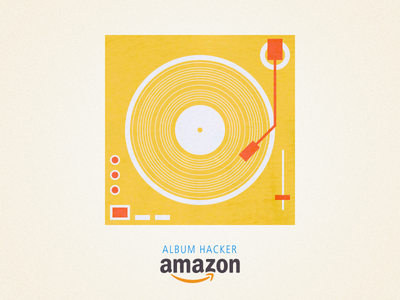Album Hacker record record player music amazon