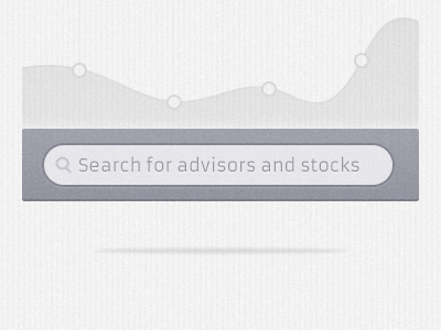 Smoochy Search stock market stock button launch page analyst search