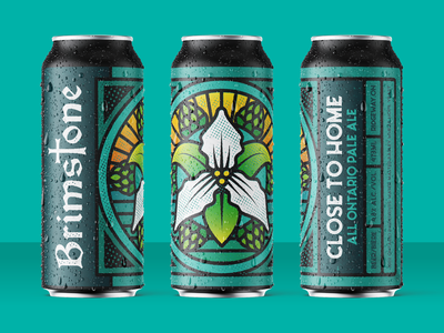 Brimstone Brewing Co. Close to Home Beer Label craft beer craftbeer labeldesign beer label beer can beer package design packaging product design brand illustration branding vector graphic graphicdesign design