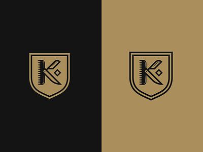 Kaycuts Logo letter lettermark logodesign emblem logo design barbershop barber brand identity brand design idenity badge logo icon brand branding vector graphicdesign graphic design