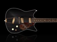Frank Brothers Custom Guitar Render