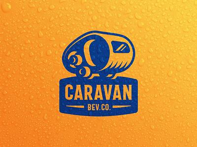Caravan Bev. Co. Logo brand identity logodesign icon logo branding illustration graphicdesign vector graphic design